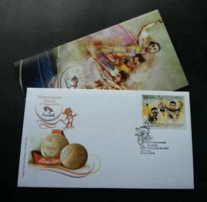 First Day Cover Paralympics in Rio Malaysia 2016