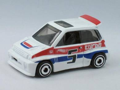 Hotwheels 85 honda city turbo white color