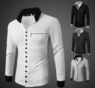6393 Zipper Men's Casual Cardigan Sweater