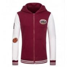 5067 Printing Hooded Cardigan Sweater Jacket