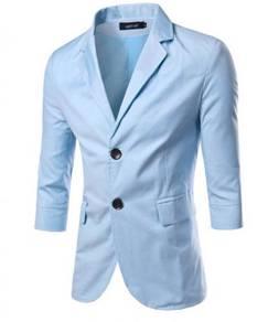 5199 Men's Solid color Casual Suit Jacket