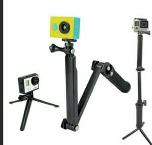 New Top Sales 3 Ways Monopod For GoPro