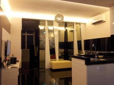 Fully furnished designer suite - 2km to Aeon Tebrau, IKEA