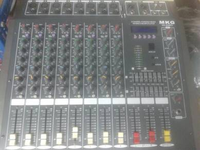 MKG 8 channel Audio Mixer (mp3)