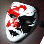 Special design halloween hollow mask