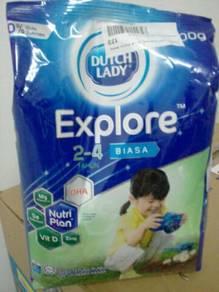 Susu ducth lady explore 2-4yr (biasa) 900g