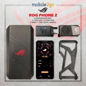 Asus ROG Phone 2 [12GB RAM/512GB ROM] MY Set