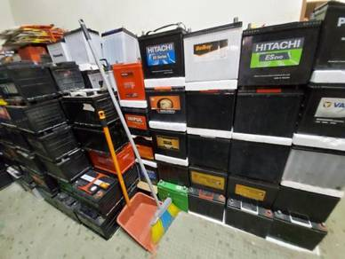 Used Battery Bateri Second Hand Ns40l Ns60 Ns70