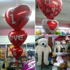 Special helium balloon surprise delivery ipoh
