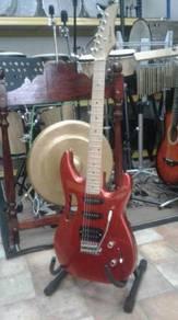 Electric Guitar Rcstromm (Red Metallic)