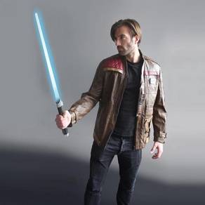 Star wars costume jacket brown Finn cosplay SW175