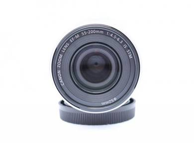 Canon EF-M Mount 55-200mm f4.5-6.3 IS STM