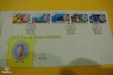 FDC Jubli Perak Sultan Pahang 1999