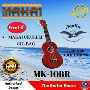 Makai MK-10BR Scarlet Soprano Mahogany Ukulele