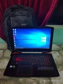 Laptop Acer i.7 7th gen ssd 512gb