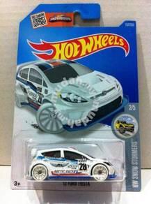 Hotwheels 2016 '12 Ford Fiesta #2 White