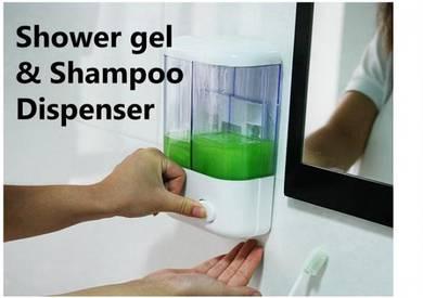 1000ml shower gel shampoo dispenser