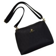 British polo faux leather sling bag