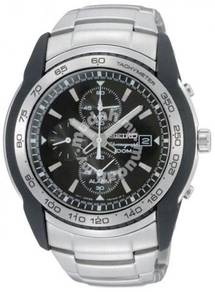 SEIKO Motor Sports Chronograph Alarm Men's Watch
