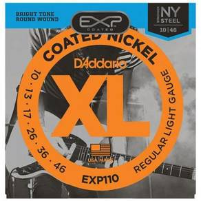 D'Addario EXP110 Coated Nickel Wound Light String