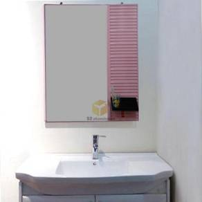 Aluminium bathroom hanging mirror w/o frame