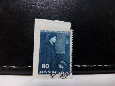 1966 Denmark Stamp People