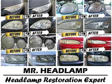 Headlamp Restoration (Polish) + UV Pretection