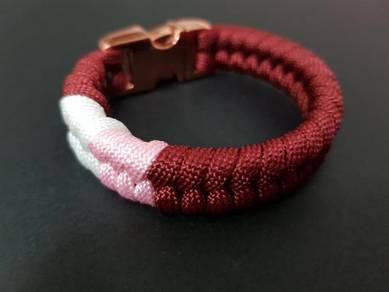 Custom-made Engrave Name for Paracord bracelet