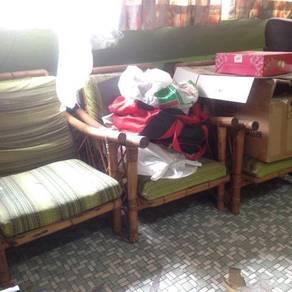 Sofa Rotan 3 unit