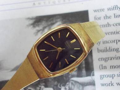 Vintage seiko lady dress watch goldplated
