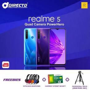 RealMe 5 (4GB/128 | 4 KAMERA BLKG | 5000 mAh)ORI