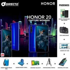 HONOR 20 (6GB RAM/128GB)DISKAUN RM300 + 8 Hadiah