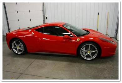 Ferrari full car caoting painting AND DETAILING