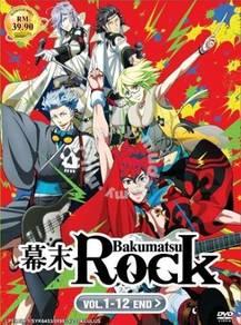DVD ANIME Samurai Jam Bakumatsu Rock Vol.1-12End