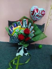 Chocolate Bouquet / Flower Bouquet/ Jambangan