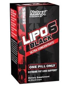 Lipo 6 Black Ultra Concentrate - 60 caps