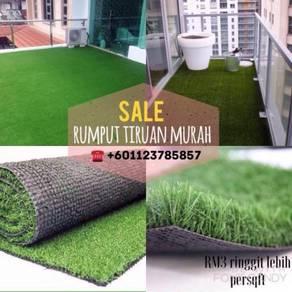 Sale artificial grass / rumput tiruan termurah
