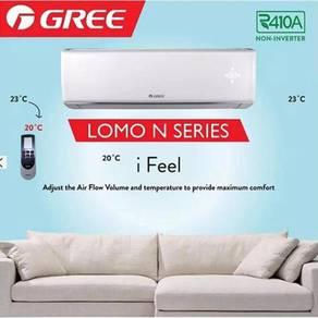 Gree Lomo N series 1hp Puncak Jalil R410a