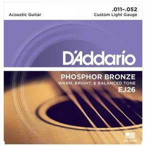 D'Addario EJ26 Phosphor Bronze Acoustic Strings