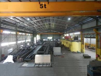 Rawang factory ( Land area 1 ac B/up total 35000 sf )