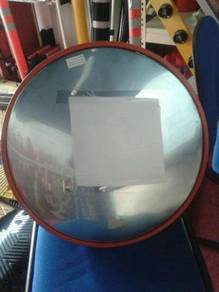 Polycarbonate convex mirror 600 mm indoor