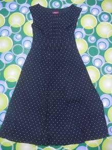 Jaker 75 MONSOON black polkadot ladies dress