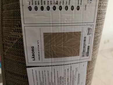 Ikea carpet kapet rug buluh bamboo