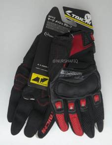 Rs-taichi riding glove (rst-412) red colour