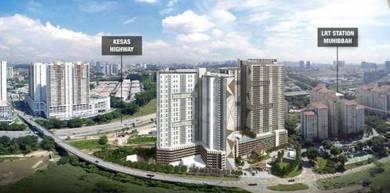 Vista OUG , Platinum OUG Residences , Bukit Jalil , LRT