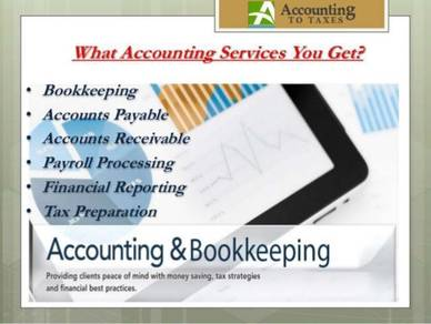 Freelance bookkeeping and accounting services