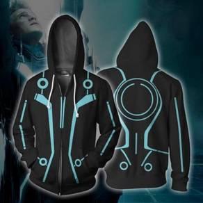 Tron black blue Hoodie jacket RBT0115