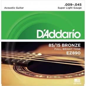 D'Addario EZ890 Acoustic Guitar Stirng