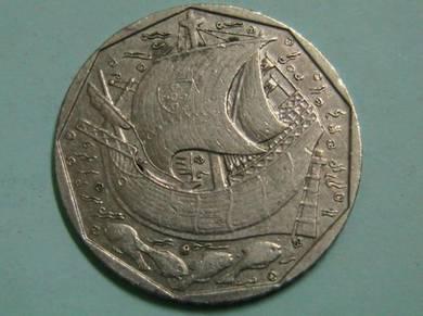 Portugal 50 Escudos 1989
