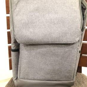 Laptop Backpack - Grey denim